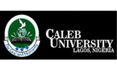 Caleb University Lagos Post UTME Admission Form 2019 | Apply Here