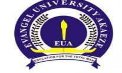 Evangel University Post UTME Admission Form 2019 | Apply Here Online