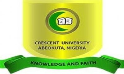 Crescent University Post UTME Admission Form 2019/2020 | Apply Here