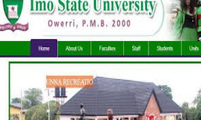 IMSU Post UTME Admission Form 2019/2020