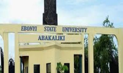 EBSU Post UTME Admission Form 2019/2020 | Apply Here Online