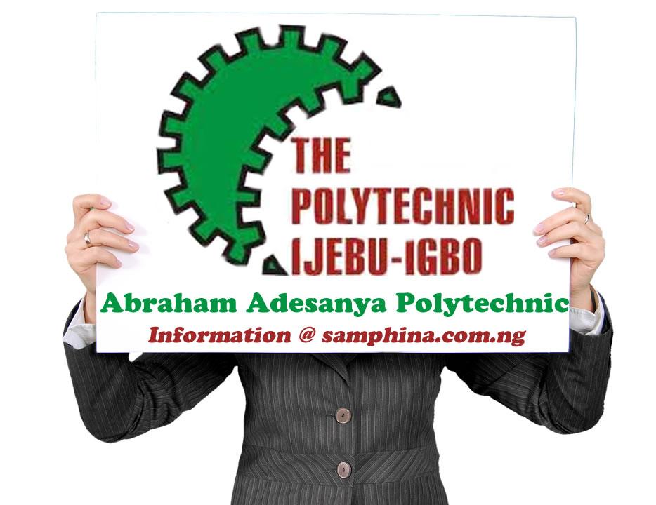 Abraham Adesanya Poly Resumption Date