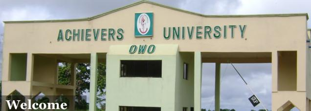 AUO Post UTME Admission Form 2019/2020 | Apply Here Online