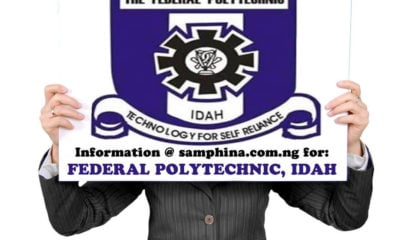Federal Polytechnic, Idah Post UTME Admission Form 2019/2020 | Apply