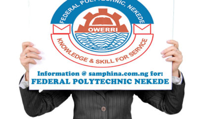 NEKEDEPOLY Post UTME Admission Form 2019/2020 | Apply Here