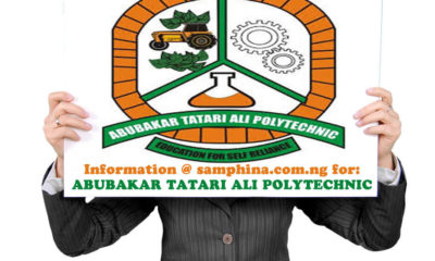 ATAP Post UTME Form Admission 2019/2020 | Apply Here Online