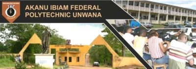 Akanu Ibiam Federal Poly ND/HND Admission List