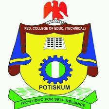 FCE POTISKUM Post UTME Admission Form