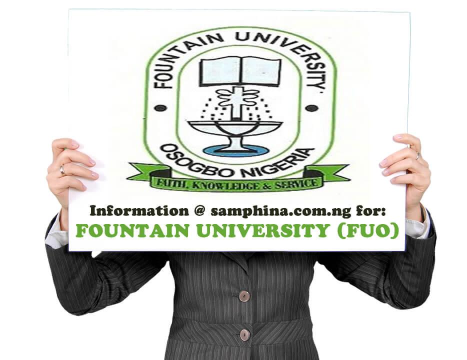 Fountain University Cut off mark