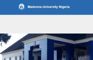 Madonna University Cut off mark