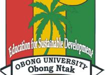 Obong University Cut off mark