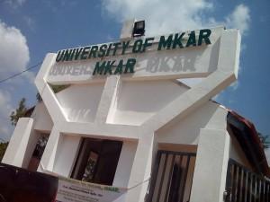 University of Mkar Cut off mark