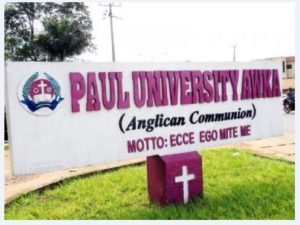 Paul University Post UTME Form