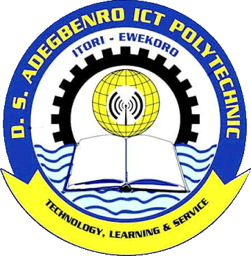 DS Adegbenro ICT Poly HND Part-Time Form