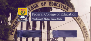 FCETAKOKA Post UTME Admission Form
