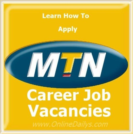 How to Apply for MTN Nigeria Recruitment Form