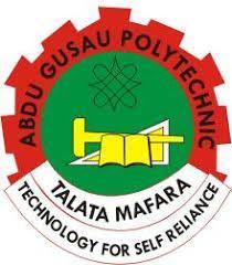 Abdu Gusau Poly HND Admission Form