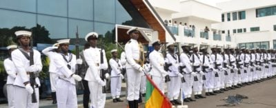 Ghana Navy Shortlisted candidates