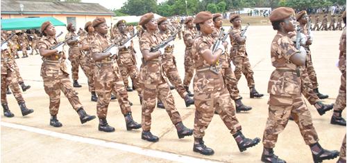 Ghana Prison Service Shortlisted candidates